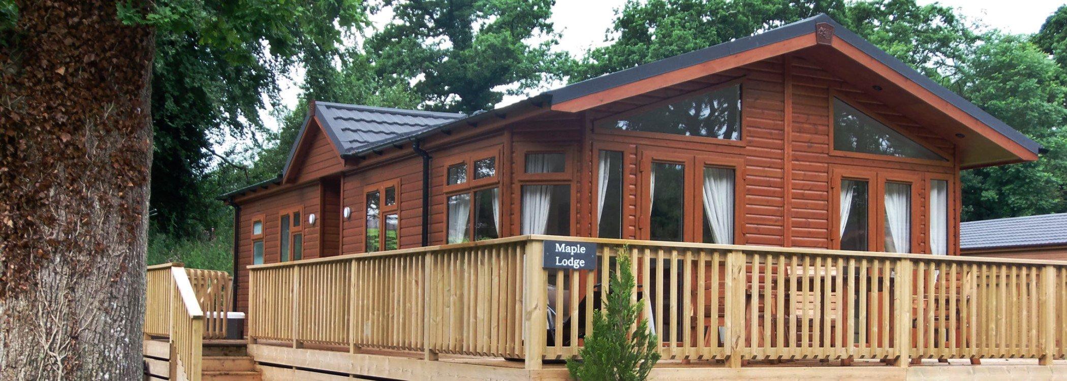 Log cabin Okehampton